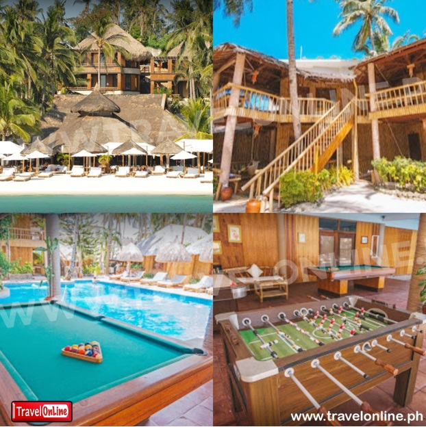 Fridays Boracay Resort - Beach Front PROMO A: NO AIRFARE WITH 6 FREEBIES  boracay Packages
