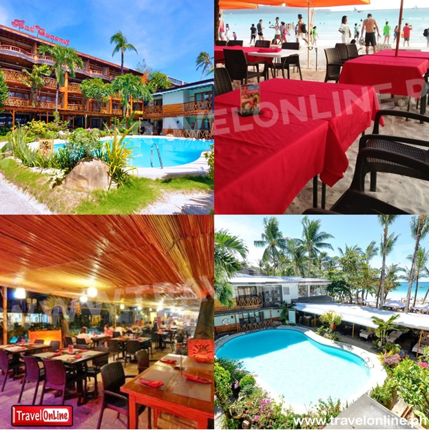 Red Coconut Boracay - Beach Front PROMO A: NO AIRFARE WITH 6 FREEBIES  boracay Packages