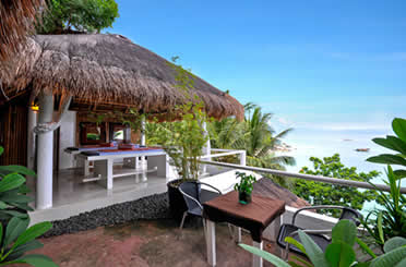 Boracay Packages  Without Airfare Nami Boracay - Beach Front Cliff Resort - 4 Star