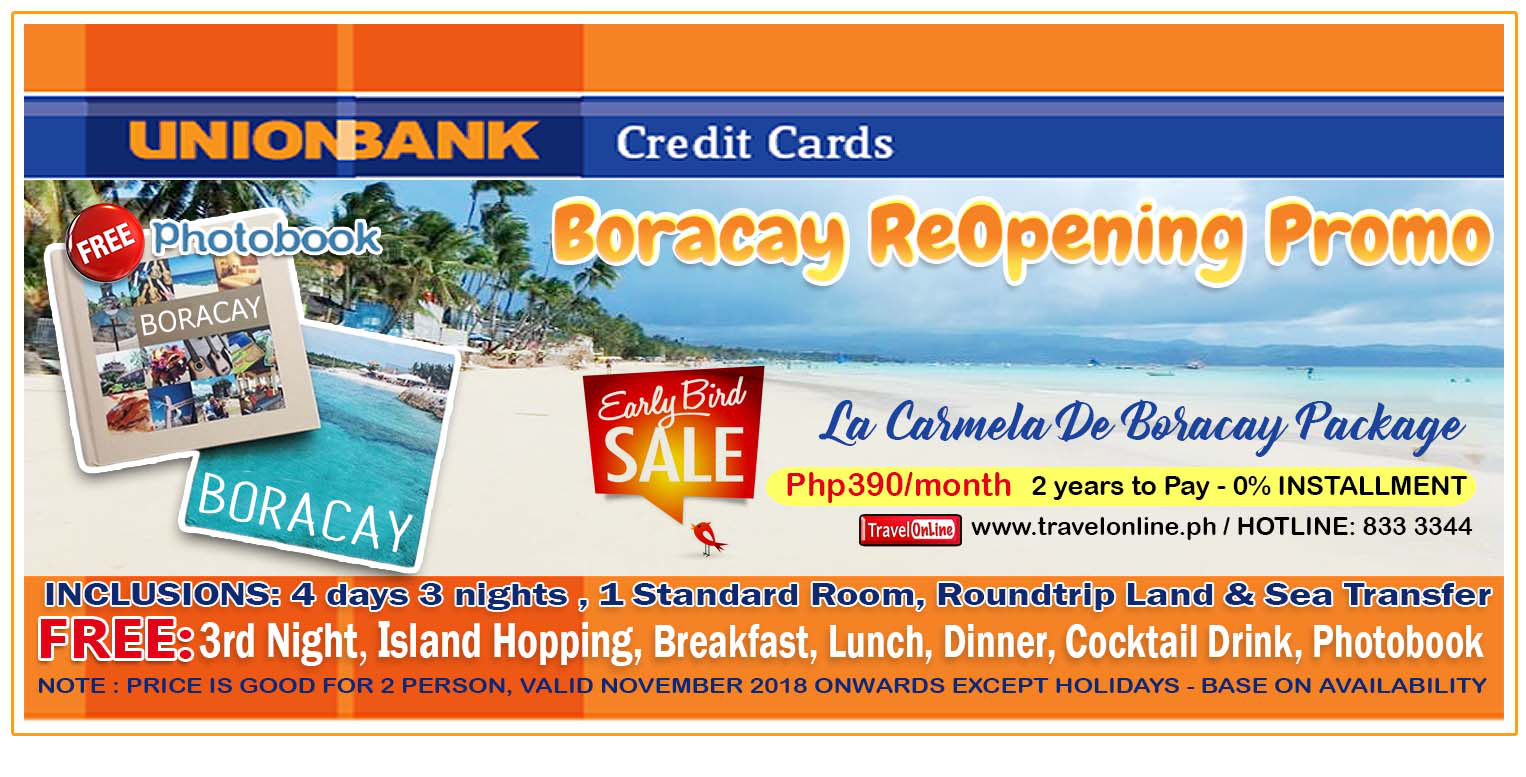 Boracay Packages La Carmela De Boracay Resort - Beach Front Without Airfare