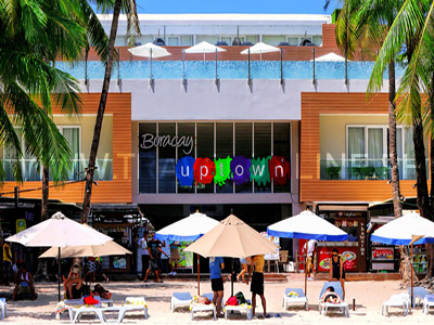 Boracay Uptown PROMO A: NO AIRFARE WITH 6 FREEBIES  boracay Packages