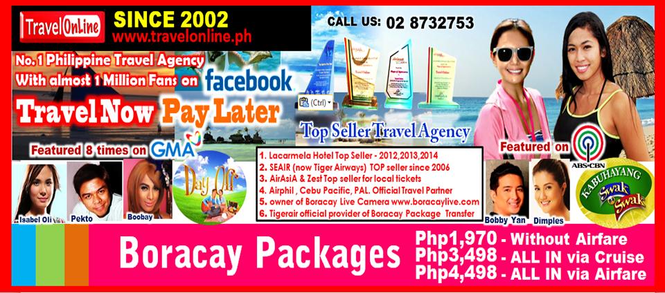 Philippines Travel Agency CRUISE BORACAY PROMO