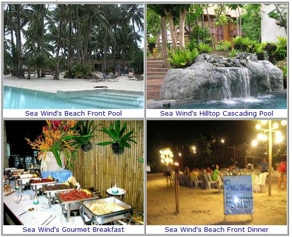 Boracay Packages  Cruise SeaWind Boracay - Beach Front
