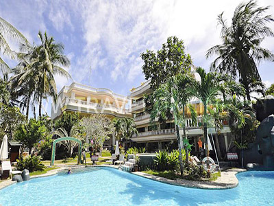 Paradise Garden Boracay - Beach Front PROMO B: CATICLAN AIRFARE ALL-IN WITH 6 FREEBIES boracay Packages