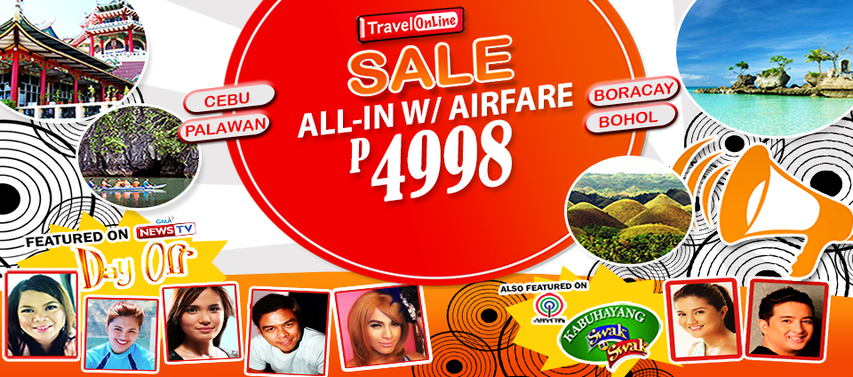 cebu package with airfare regular promo