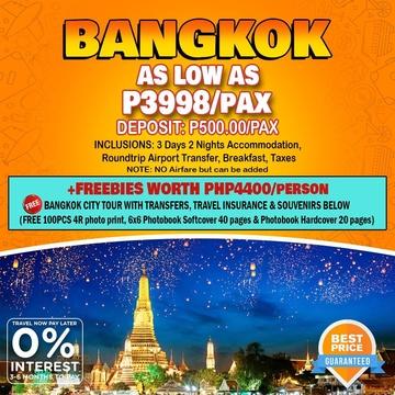 Travelonline Philippines Travel Bangkok Packages