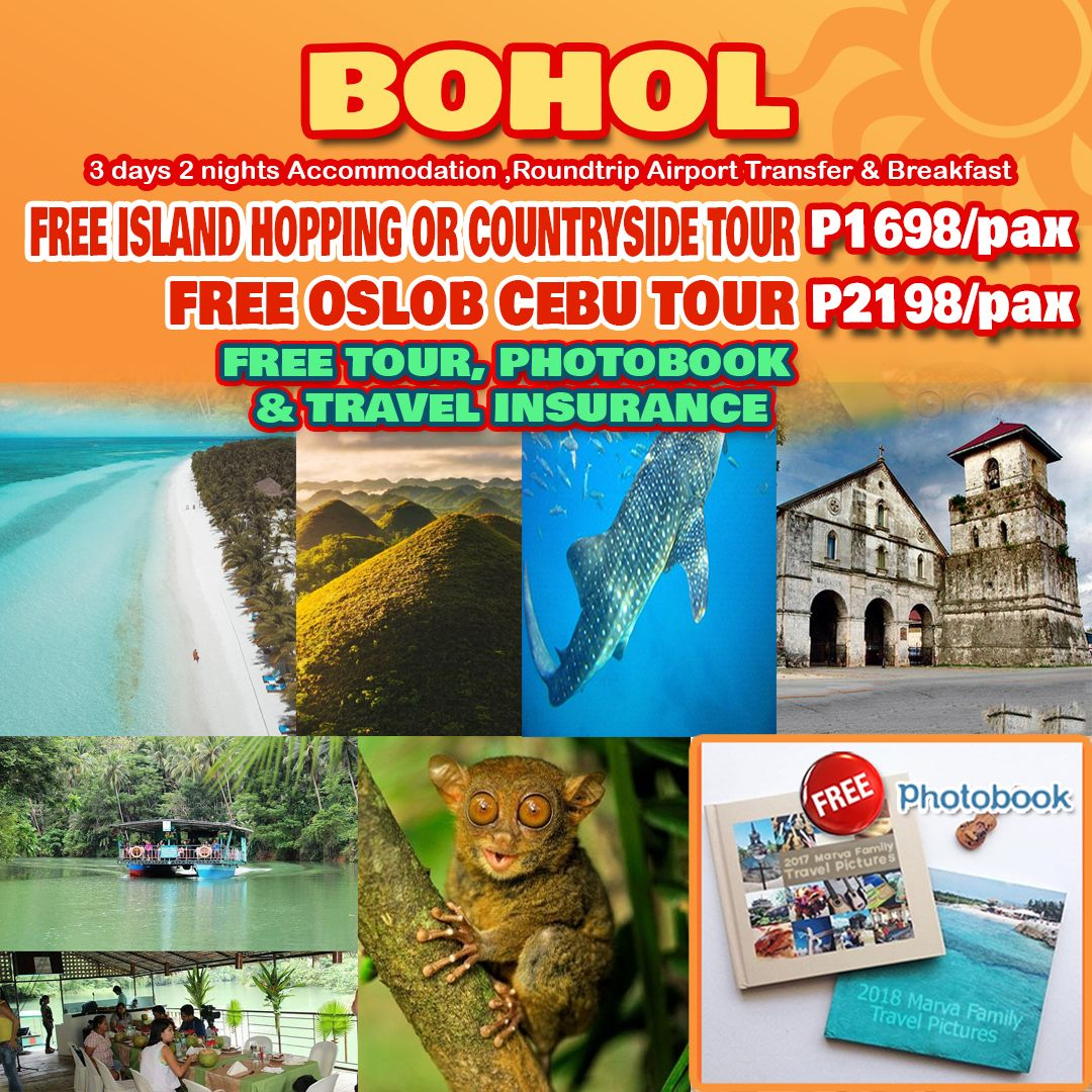 Travelonline Philippines Travel Agency Bohol Packages