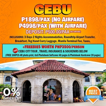 Travelonline Philippines Travel Agency Cebu Packages