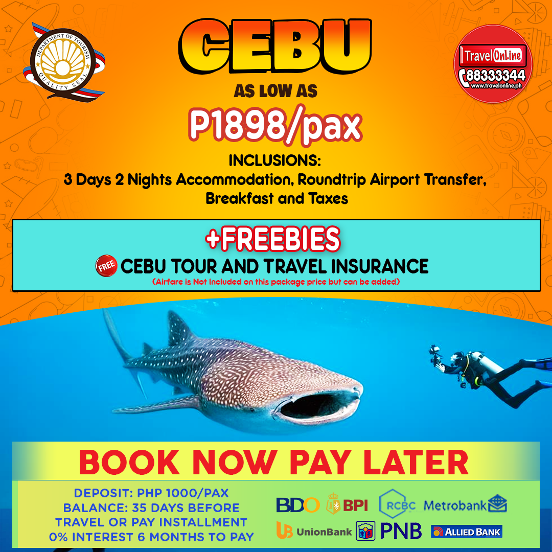 Travelonline Philippines Travel Agency Cebu Packages