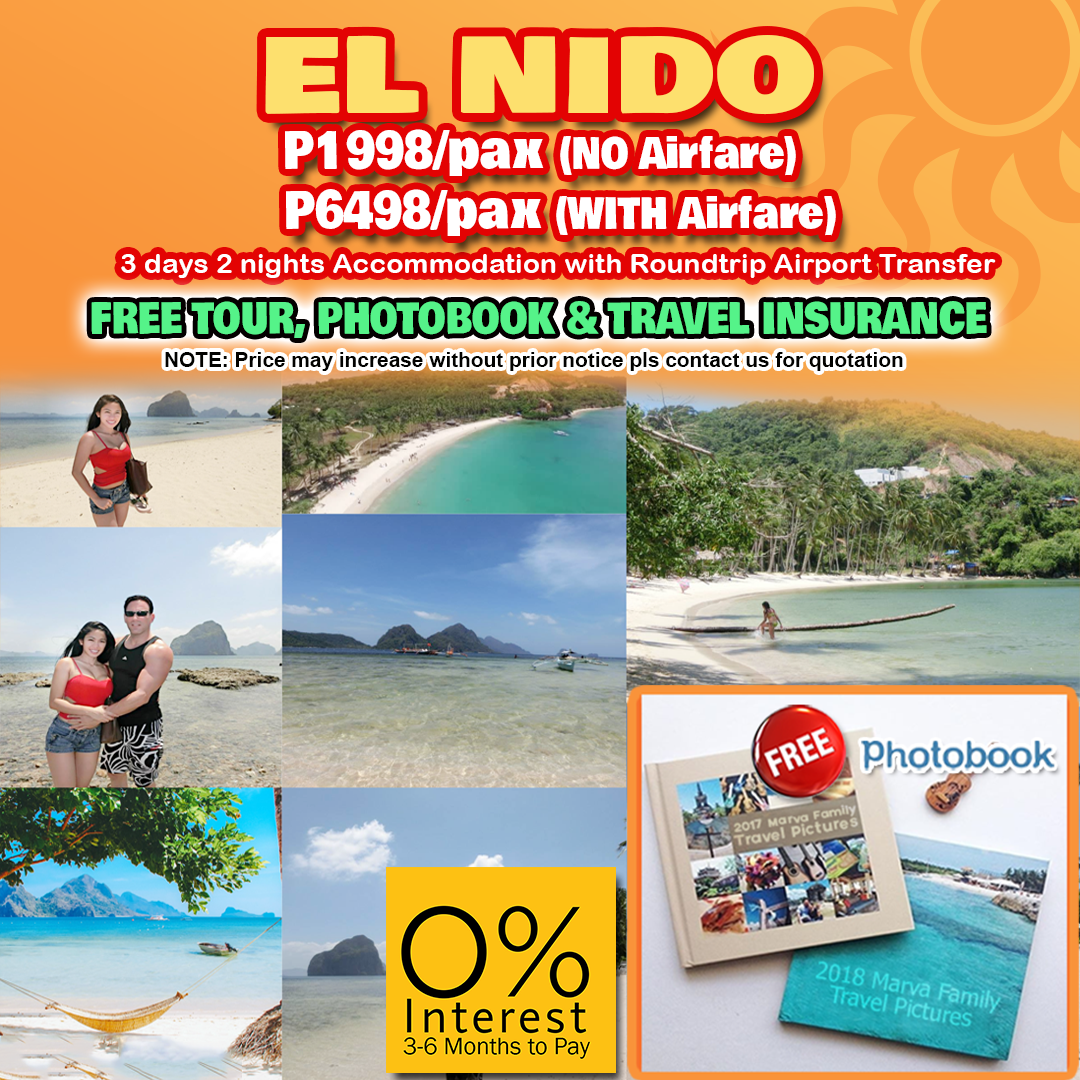 Travelonline Philippines Travel Agency Elnido Packages