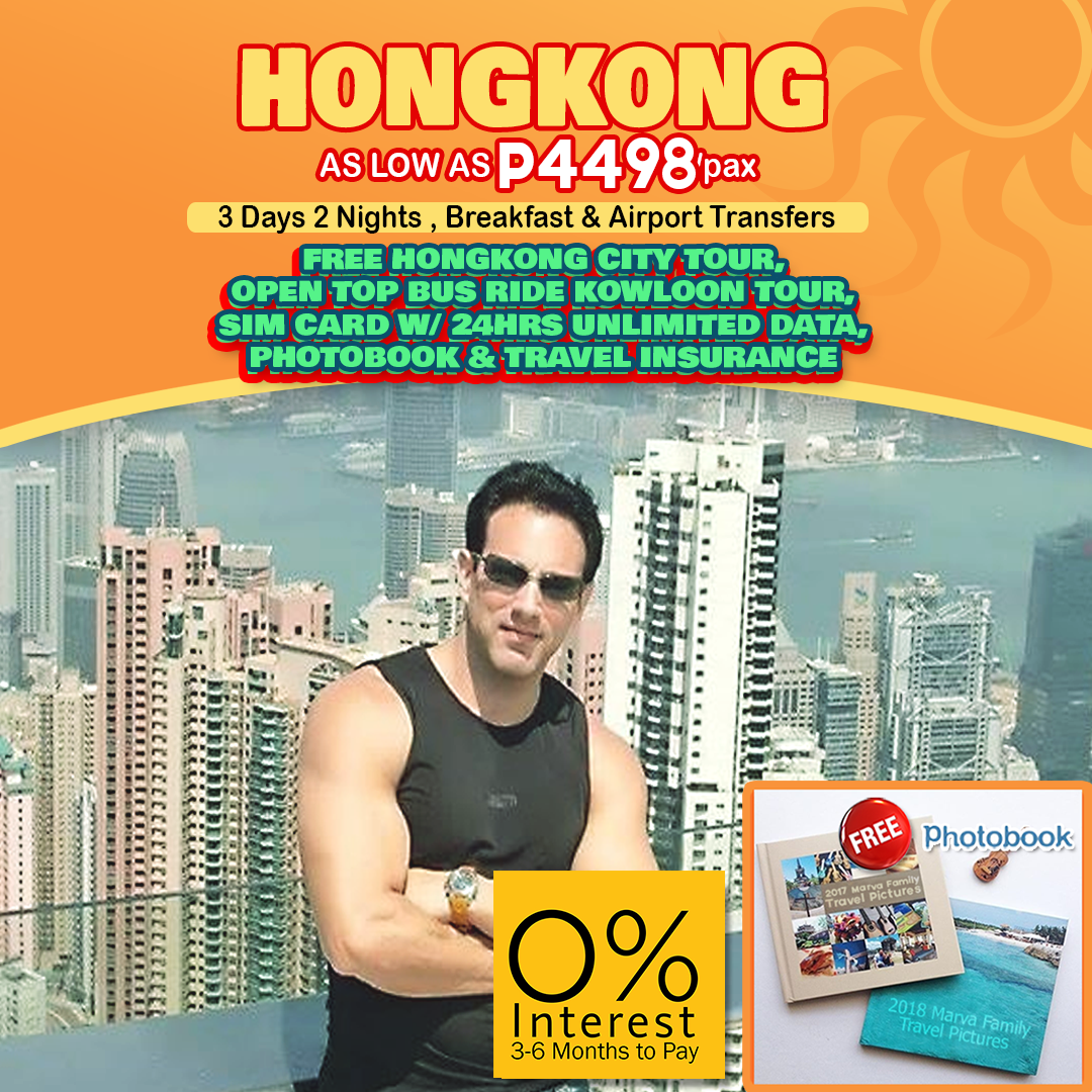 Travelonline Philippines Travel Agency Hong Kong Packages