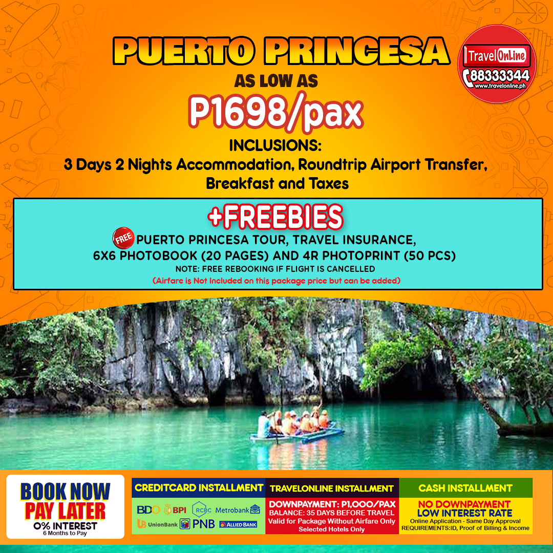 Travelonline Philippines Travel Agency Palawan Packages