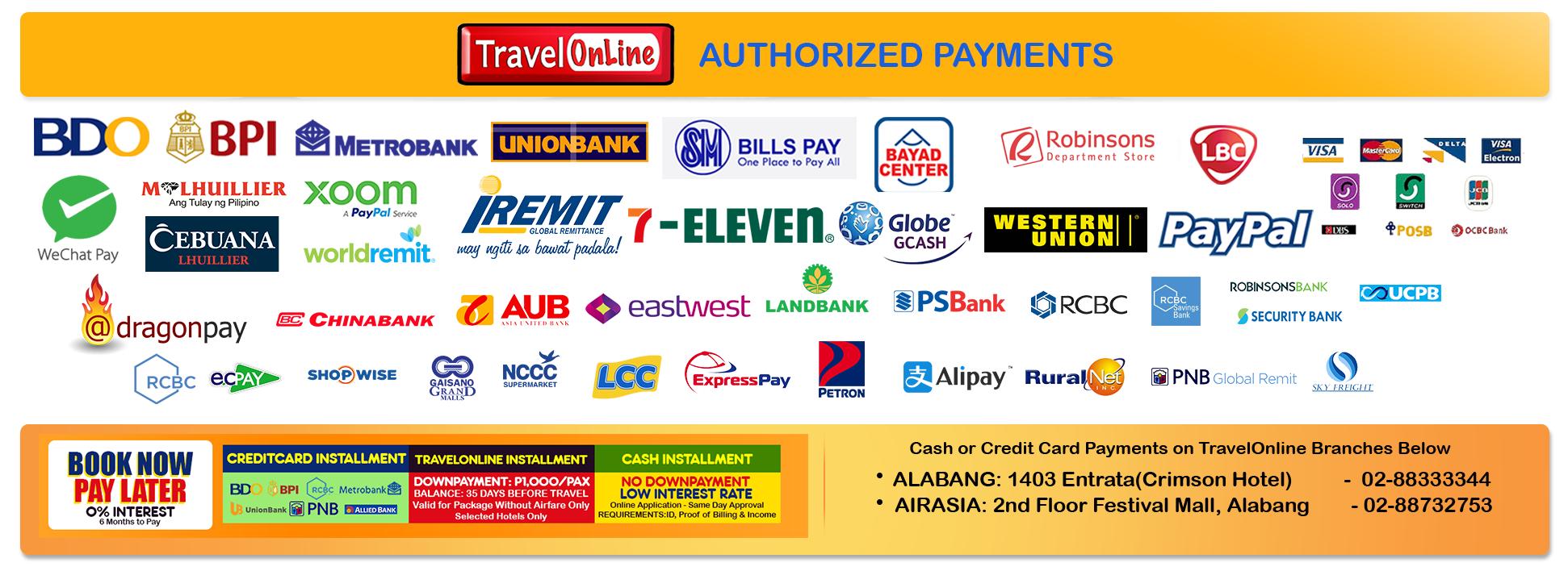 TravelOnline Philippines Travel Agency Boracay