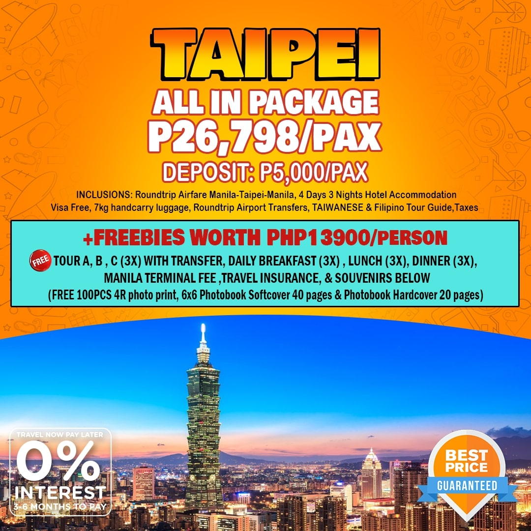 Travelonline Philippines Travel Taipei Packages